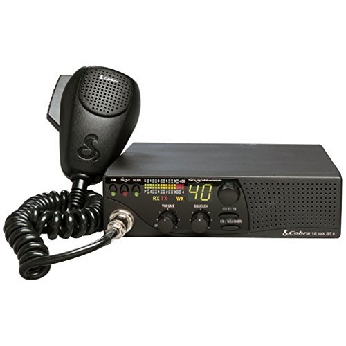 Cobra 18WXSTII Mobile CB Radio with Dual Watch (Certified Refurbished) by Cobra