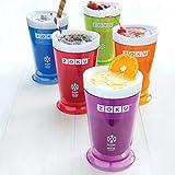 Zoku Slush and Shake Maker, Compact Make and Serve