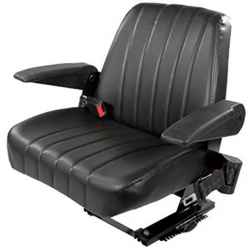 Seat Assembly Vinyl Black Kubota M5700 M9000 M8200 M4900 M6800 M4030 M4700 M5400 M5030 3A011-85010