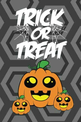 Trick or Treat: Cute Small Halloween Notebook - Healthy Candy Alternative - Kids Writing Book (MindCandy Halloween Books) (Volume 1) for $<!--$4.45-->