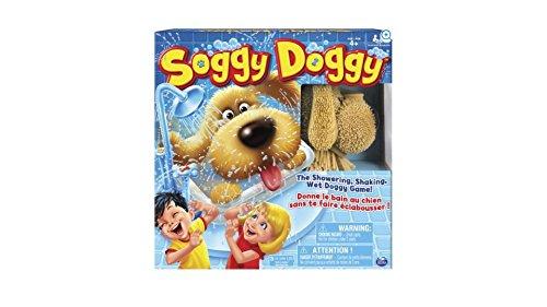 Splishy Splashy Fun Soggy Doggy Board Game for Kids with Interactive Dog Toy by Soggy Doggy