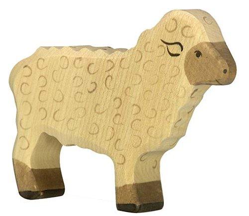 Holztiger Sheep Standing Toy Figure
