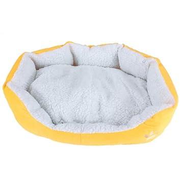 onlinegrocerystore (TM) L resistente al agua caliente sopet perro gato cama casa cesta Nido Mat - Amarillo TK: Amazon.es: Informática