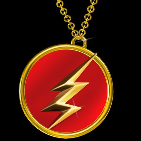 - Flash Round Pendant Necklace,Flash Round Necklace for Man,Boys