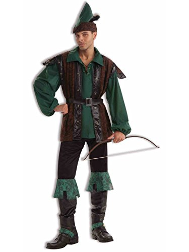 Forum Plus Size Fables and Fairy Tales Robin Hoodie, Green, X-Large Costume