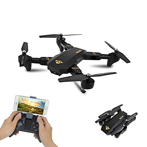 ZWN XS809HW XS809W Mini Foldable Selfie RC Drone with Wifi FPV 2MP Camera Altitude Hold Mode,Headless Mode Quadcopter