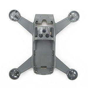 Rantow per DJI Spark Riparare la Parte di Ricambio degli Accessori di Ricambio Corpo Coperture Cofano a Conchiglia fuco Cornice Centrale 4 spesavip