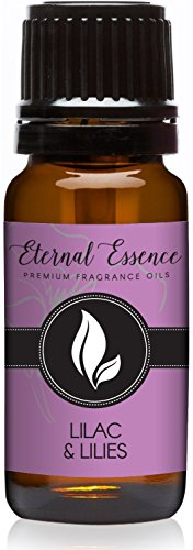 Lilac & Lilies Premium Grade Fragrance Oil - 10ml - Scented (Lilac Scent Oil)