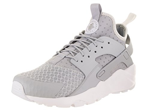 cf0754bd57932 Galleon - NIKE Men s Air Huarache Run Ultra Wolf Grey Pale Grey White Running  Shoe 9.5 Men US