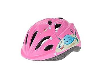 LridSu Superior Patrón de niños Impresos Casco Casco de Seguridad Ajustable para Ciclismo para niños (
