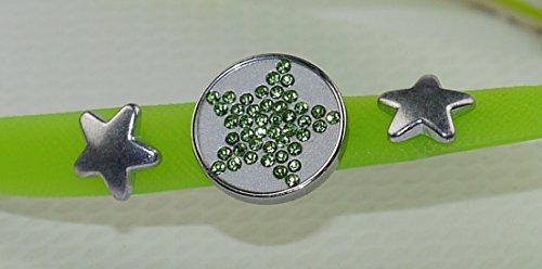 COVYS jandals green tea/white #5117 women (Zehentrenner, Sandale, DIY, Pins) green tea/white