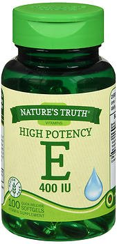 Nature's Truth High Potency Vitamin E 400 IU Quick Release Softgels - 100ct, Pack of 6 by Nature's Truth