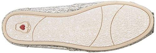 Bobs Från Skechers Kvinna Plysch Mode Slip-on Flat Naturlig Vävt