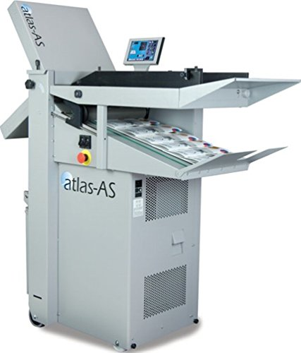 "Hopper Atlas (FORMAX Atlas AS Air-Feed Document Folder, 7"" Color Touchscreen Control Panel, Up to 27500 per hour, Up to 500 sheets/22# bond Hopper Capacity, Six Standard Folds in Common Paper Sizes)"