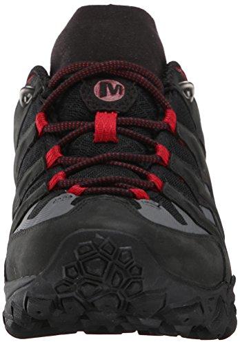 Merrell Mens Chameleon Shift Ventilateur Chaussure De Randonnée Noir / Rouge