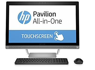 "HP Pavilion 27-a210 All-in-One, 27"" Full HD Touchscreen, Intel Core i7-7700T (Certified Refurbished)"