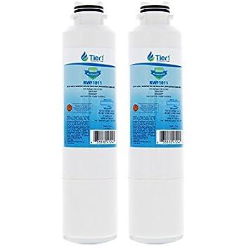 Tier1 Replacement for Samsung DA29-00020B, DA29-00020A, HAFCIN/EXP, HAFCIN, 46-9101, DA97-08006A-B Refrigerator Water Filter 2 Pack