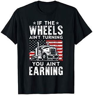 Funny Truck Driver Transporter USA Trucker Gift T-shirt | Size S - 5XL