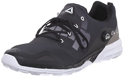 Shoe Running 0 Reebok Fusion ELE Black White Zpump Coal 2 Alloy Men's U0pSqA