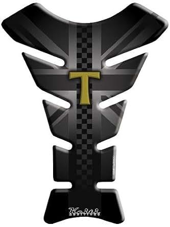 KEITI Protector Deposito Moto Tank Pad Sticker Pegatinas TTR703 Triumph