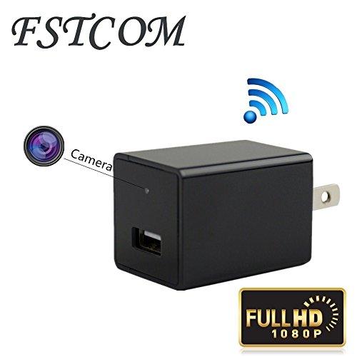 FSTCOM HD 1080P USB Charger Camera Wifi Wireless Hidden Spy
