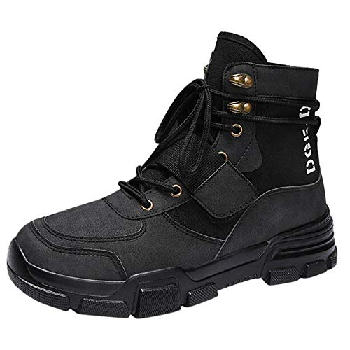 WENSY Men's Soft Toe Leather Insulated Work