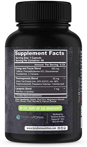 Premium Thermogenic Fat Burner, Weight Loss Supplement – Antimatter – Suppresses Appetite, Increases Metabolism & Boosts Energy – Made in USA – 1 Month 5
