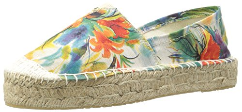 Dirty Blue Elson Laundry by Women's Chinese Flower Flat Laundry Fabr 7zqrwB7