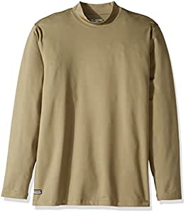 Under Armour Men's ColdGear Infrared Tactical Fitted Mock, Federal Tan/None, XXX-Large