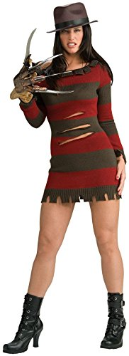 Freddy Krueger Sweater Dress (Miss Krueger Adult Costume -)