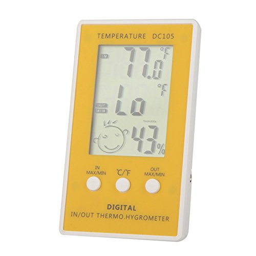 GabionTM-LCD-Digital-Thermometer-Hygrometer-Temperature-diagnostic-tool-Humidity-Meter-weather-station-tester-w-Wired-External-Sensor