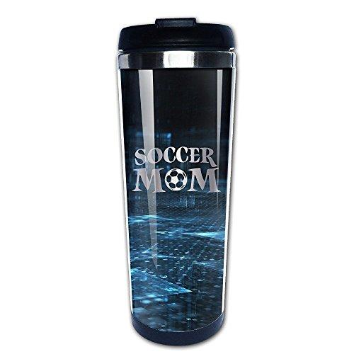 Stainless Steel Soccer Mom Logo 1 Platinum Style Tumbler Coffee Mug