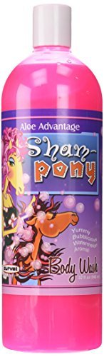Aloe Advantage Sham-Pony Body Wash, 32-Ounce by Aloe Advantage