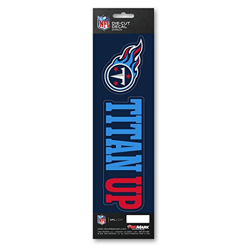 (Team ProMark NFL Tennessee Titans Slogan Decal)