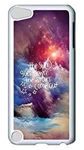Brian114 Case, iPod Touch 5 Case, iPod Touch 5th Case Cover, Beautiful Gorgeous Clouds Retro Protective Hard PC Back Case for iPod Touch 5 ( white )