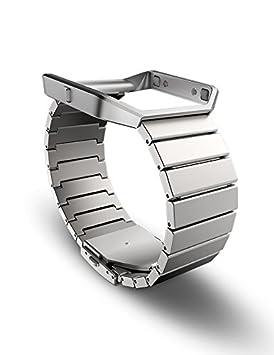 Fitbit Blaze - Pulsera de eslabones de Acero Inoxidable ...