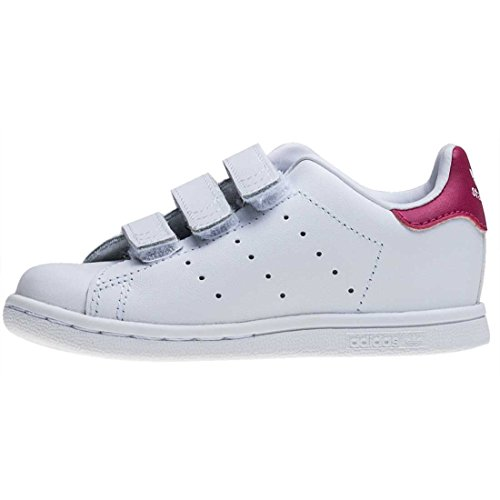 adidas Stan Smith Cf I Bambino Piccolo Formatori White Pink - K6.5 UK