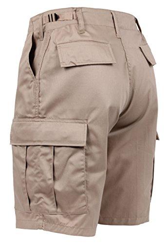 Rothco P/C BDU Shorts, Khaki, 4XL by Rothco