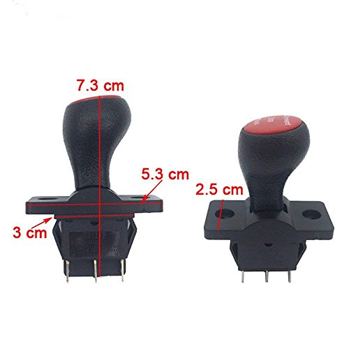 weelye Forward Stop Back Gear Lever Push Rod Switch Accessory for Kids Power Wheels Cars Children Electric Ride on Toys Replacement Parts