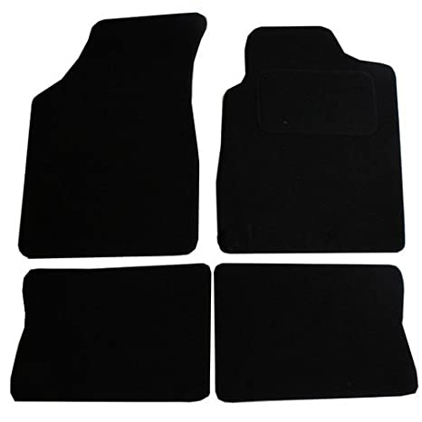 JVL Fully Tailored Car Mat Set - 4 Pieces, Black 1231