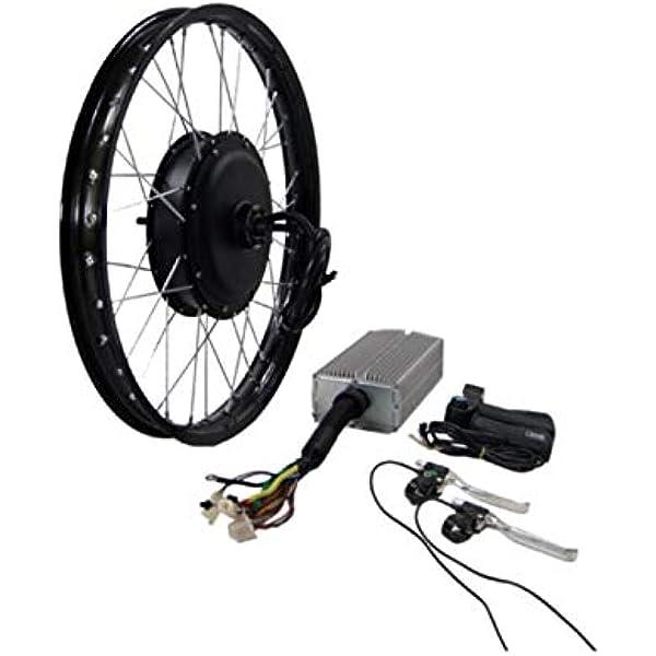 Kit de motor de cubo de 3000 W para bicicleta eléctrica Stealth Bomber: Amazon.es: Deportes y aire libre