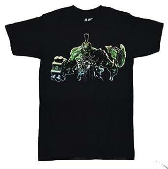 Marvel Thor Ragnarok Inside Incredible Hulk Men's T-shirt (Small, Black)