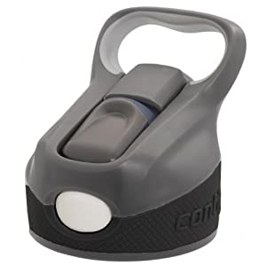Contigo Autospout Replacement Water Bottle Lid - Charcoal/White