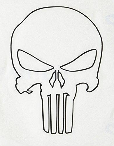 Group Of Punisher Skull Outline Related