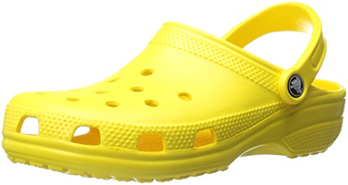 Crocs Classic, Mixte Adulte Sabots, Jaune (Lemon), 46-47 EU