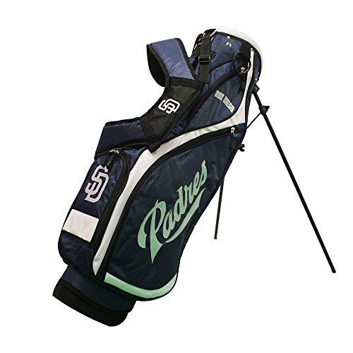 Team Golf 97227 San Diego Padres MLB Nassau Golf Stand Bag by Team Golf