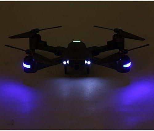 Ballylelly Attop X-PACK1 RC Drone 720P Cámara Gran Angular WiFi FPV Plegable Quadcopter: Amazon.es: Juguetes y juegos