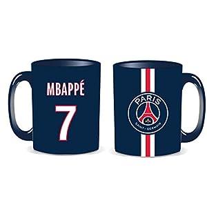 LA PLUME DOREE G.B Mug PSG Mbappe Collection officielle 4