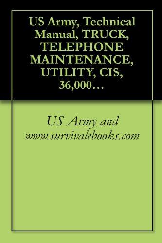 (US Army, Technical Manual, TRUCK, TELEPHONE MAINTENANCE, UTILITY, CIS, 36,000 GVW, 6 x 4, WIWN W/E, M876 (NSN 2320-00-000-0114), TM 9-2320-269-20-2, 1985 )