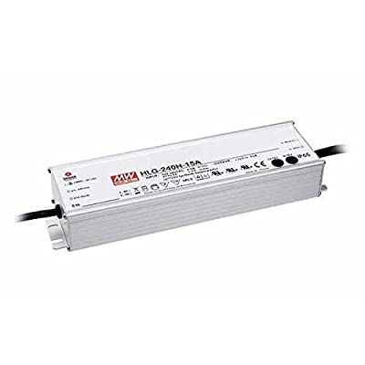 HLG-240H-36A Mean Well AC-DC LED Power Supply 36V 6.7 AMP 241.2W